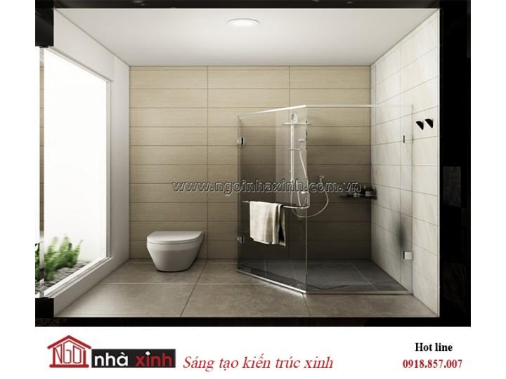 Mẫu thiêt kế phòng tắm đẹp | Hiện đại | Nhà chị Tâm.