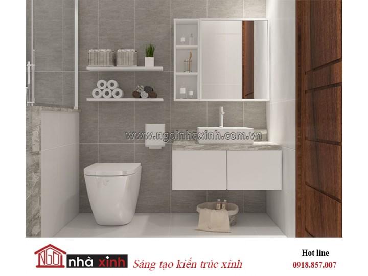 Mẫu thiêt kế phòng vệ sinh đẹp | Hiện đại | Nhà Anh Viên - Thủ Đức.