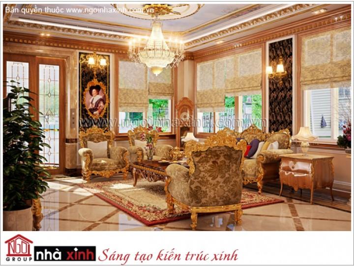 Mẫu Thiết Kế Nội Thất Đẹp | Cổ Điển | Biệt Thự| Chú Long - Quận 7 | NTNNX164