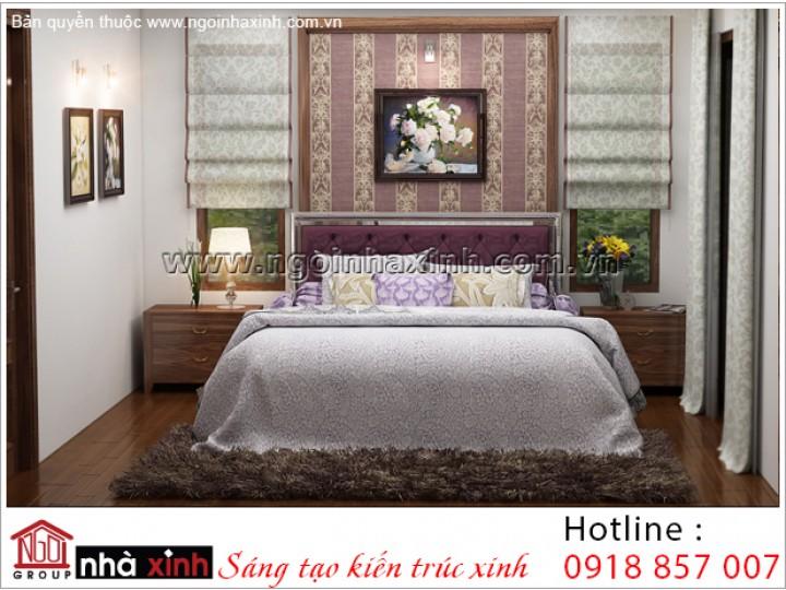Mẫu Phòng Ngủ Đẹp | Cổ Điển - Gamuda | NT. NNX 188