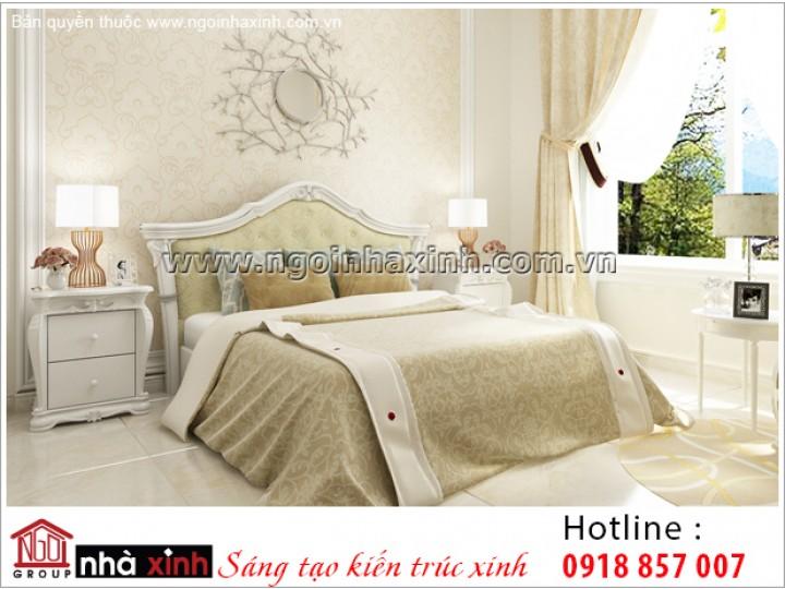 Mẫu Thiết Kế Phòng Ngủ Đẹp   Cổ Điển   NT. NNX 189
