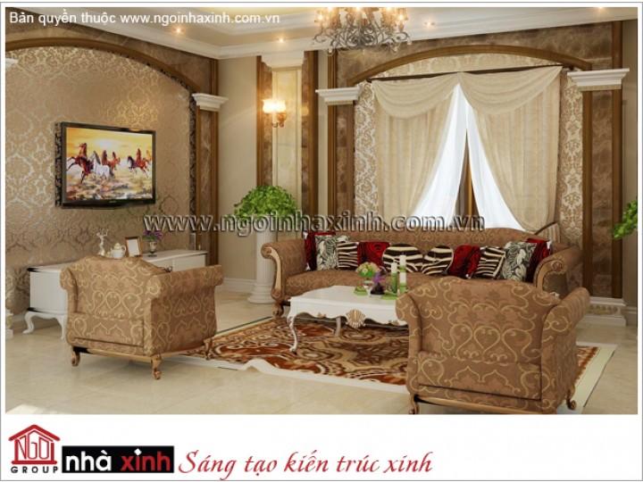 Mẫu  Phòng Khách Đẹp Lộng Lẫy | Hiện Đại - Bảo Sơn | NT. NNX 176