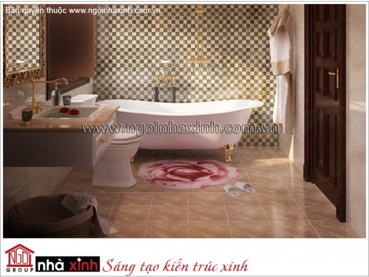 Mẫu Thiết Kế Phòng Tắm Sang Trọng | Hiện Đại - Bảo Sơn | NT. NNX 176