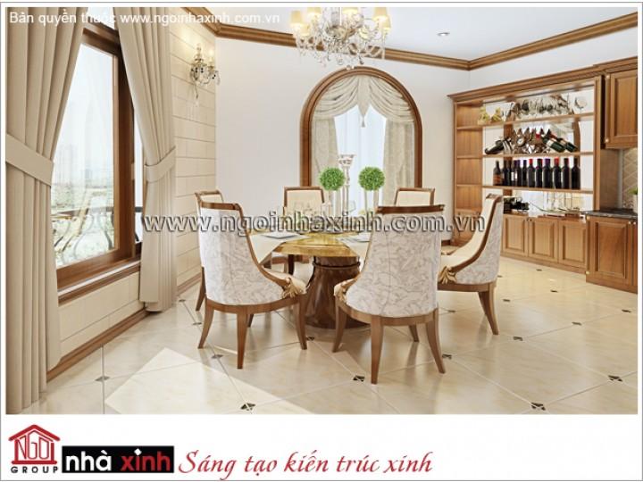 Nội Thất Phòng Bếp & Phòng Ăn Đẹp | Hiện Đại | Anh Dũng - Q.Gò Vấp | NT. NNX 168
