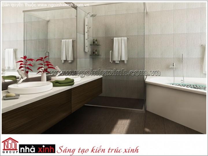 Mẫu Nội Thất Phòng Tắm Đẹp | Hiện Đại - Bình Dương | NT. NNX 178