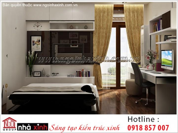 Trang Trí Phòng Ngủ Trẻ Trung | Hiện Đại |Bình Thạnh | NT. NNX 183