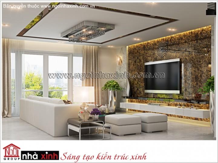 Mẫu  Phòng Khách Đẹp Tiện Nghi | Hiện Đại | Đảo Kim Cương - TPHCM | NT. NNX 174