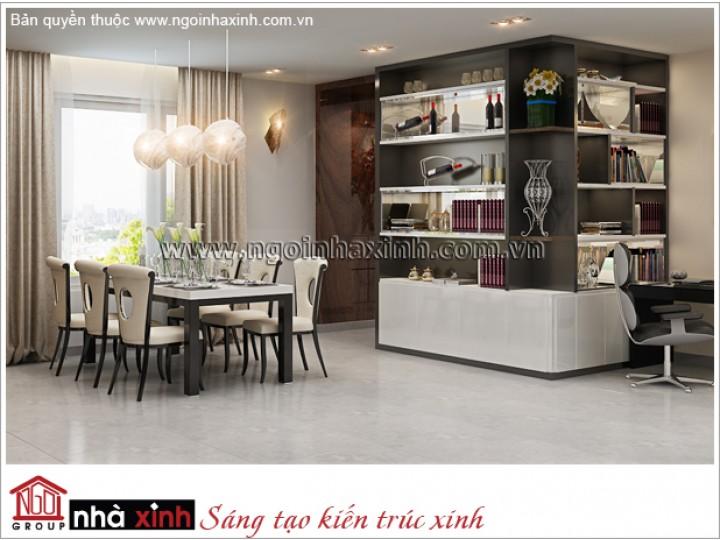 Nội Thất Phòng Bếp Đẹp | Hiện Đại | Chị Châu - Đảo Kim Cương | NT. NNX 174