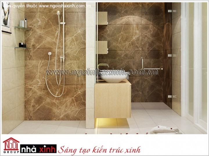 Mẫu Thiết Kế Phòng Tắm Sang Trọng | Hiện Đại | Đảo Kim Cương | NT. NNX 174