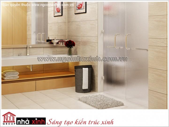 Mẫu Thiết Kế Phòng Tắm Đẹp | Hiện Đại | Đảo Kim Cương | NT. NNX 174