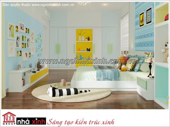 Mẫu Thiết Kế Phòng Ngủ Tươi Tắn| Hiện Đại | Hà Tĩnh - NT. NNX 180