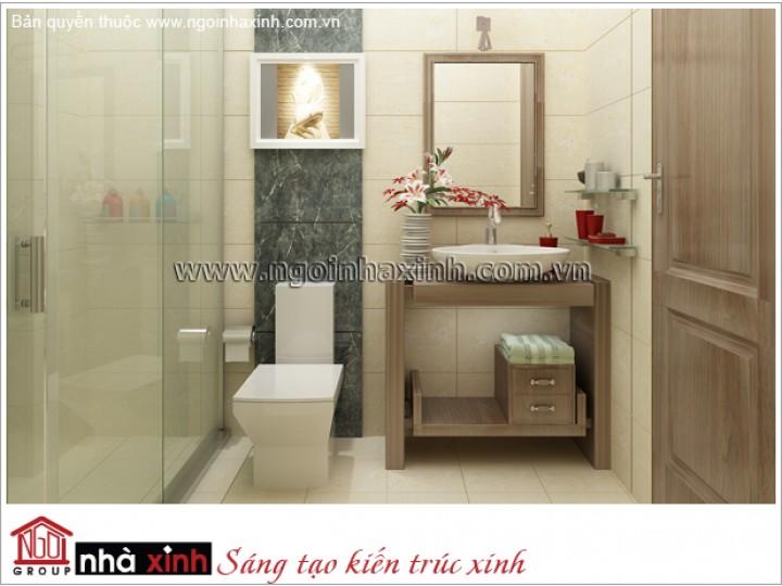Mẫu Nội Thất Phòng Tắm Đẹp | Hiện Đại | Nhà Phố |  NT. NNX 172