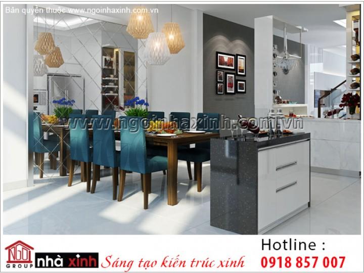Mẫu Nội Thất Phòng Bếp Đẹp  | Hiện Đại  | NT. NNX 192