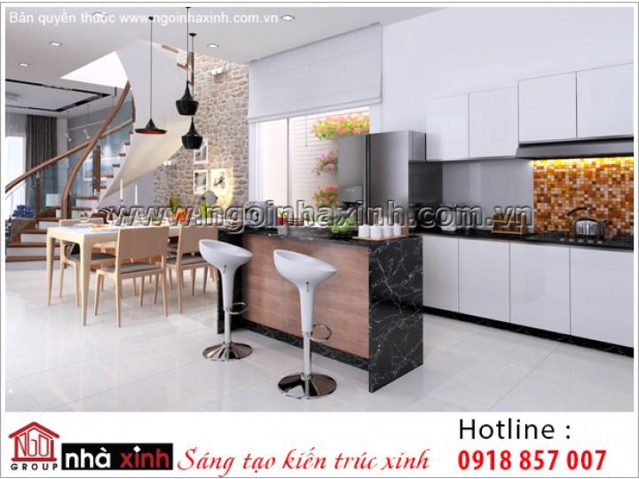 Nội Thất Phòng Bếp & Phòng Ăn Đẹp | Hiện Đại | NT. NNX 194