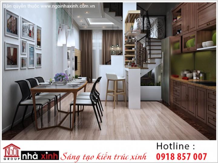 Mẫu Nội Thất Phòng Bếp & Phòng Ăn Đẹp   Hiện Đại   Phú Thọ   NT. NNX 199