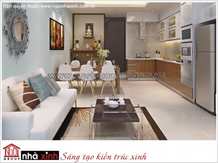 Mẫu Phòng Sinh Hoạt Chung Đẹp | Hiện Đại - Tân Bình | NT. NNX 177