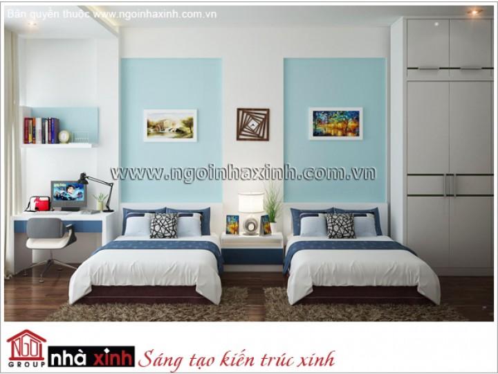 Mẫu Phòng Ngủ Trẻ Em Vui Tươi | Hiện Đại - Tân Bình| NT. NNX 177