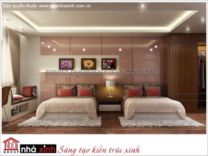 Mẫu Thiết Kế Phòng Ngủ Đẹp | Hiện Đại - Tân Bình | NT. NNX 177