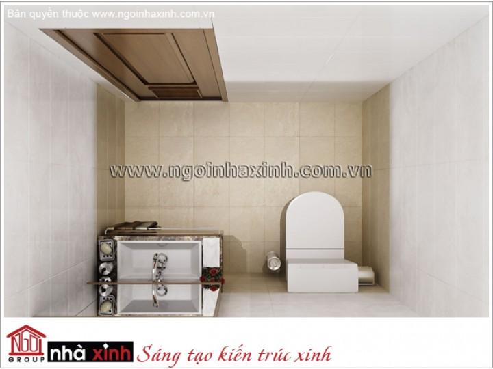 Mẫu Thiết Kế Phòng Tắm Đẹp | Hiện Đại - Tân Bình | NT. NNX 177