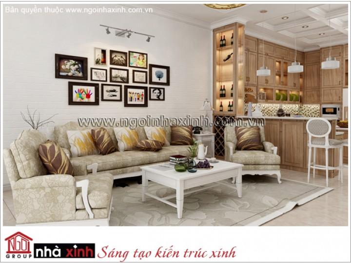 Mẫu Phòng Khách Đẹp | Hiện Đại - Tân Bình | NT. NNX 179