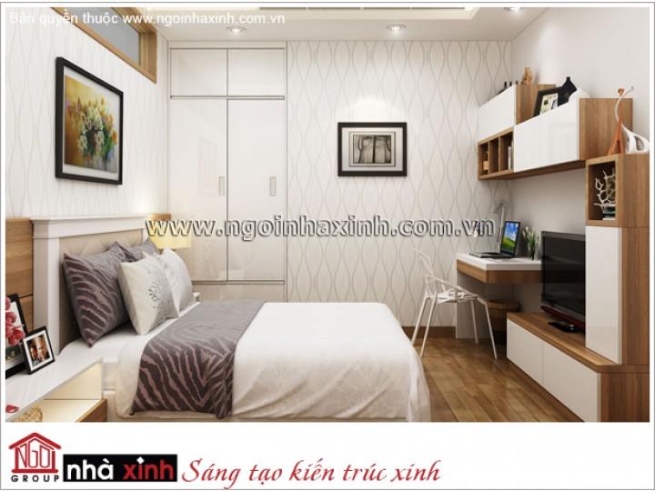 Trang Trí Phòng Ngủ Ấm Áp | Hiện Đại - Thăng Long | NT. NNX 175