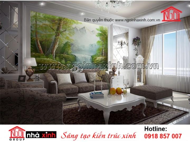 Mẫu Nội Thất Đẹp | Tân Cổ Điển  | Nhà Phố | Lê Kim Nhật Lam |NT. NNX 196