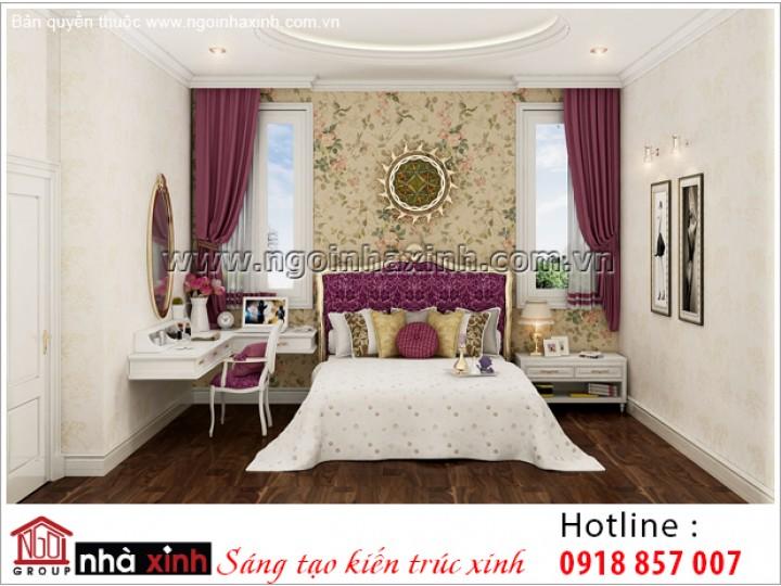 Mẫu Thiết Kế Phòng Ngủ Sang Trọng | Tân Cổ Điển - Tây Ninh | NT. NNX 184