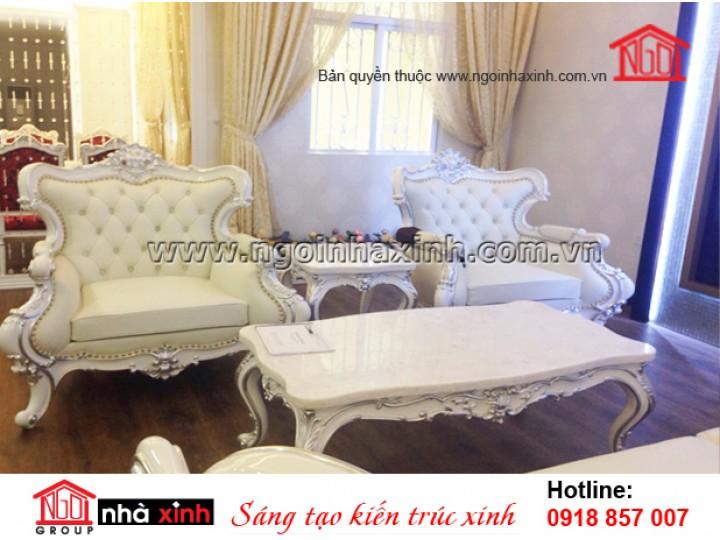Mẫu Thiết Kế Trang Trí Nội Thất Đẹp - Ngôi Nhà Xinh | Tân Cổ Điển - TP.HCM | NT. NNX 143