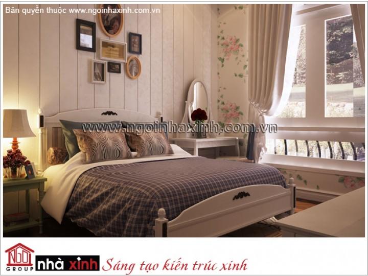 Mẫu Thiết Kế Trang Trí Phòng Ngủ Đẹp | Hiện Đại - Tân Bình | NT. NNX 179