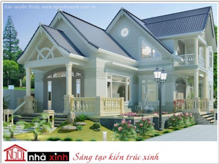 Ngôi Nhà Xinh giới thiệu mẫu biệt thự đẹp cổ điển