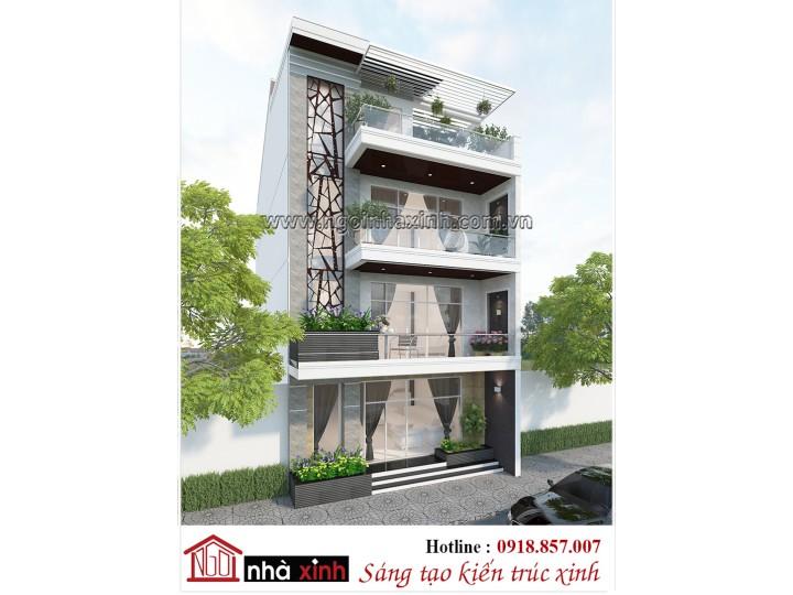 Nhà phố đẹp | A Thanh Lâm - Nghệ An  | Hiện đại | NNX NP 704