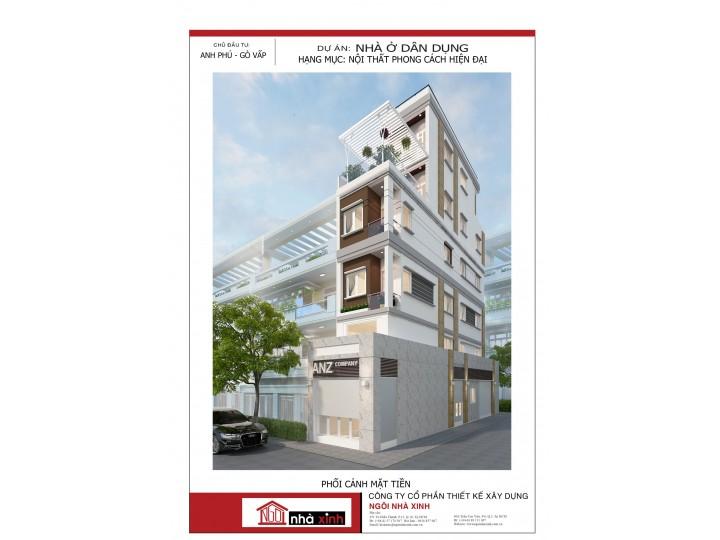 Nhà Phố Đẹp | Hiện Đại | Anh Phú | Gò Vấp - HCM | NP - NNX 719
