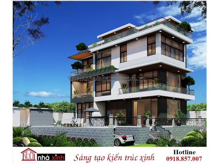 Nhà Xinh | Biệt thự đẹp | Hiện đại | A Hải – Trần Não, Q2 TP.HCM | BT NNX 710