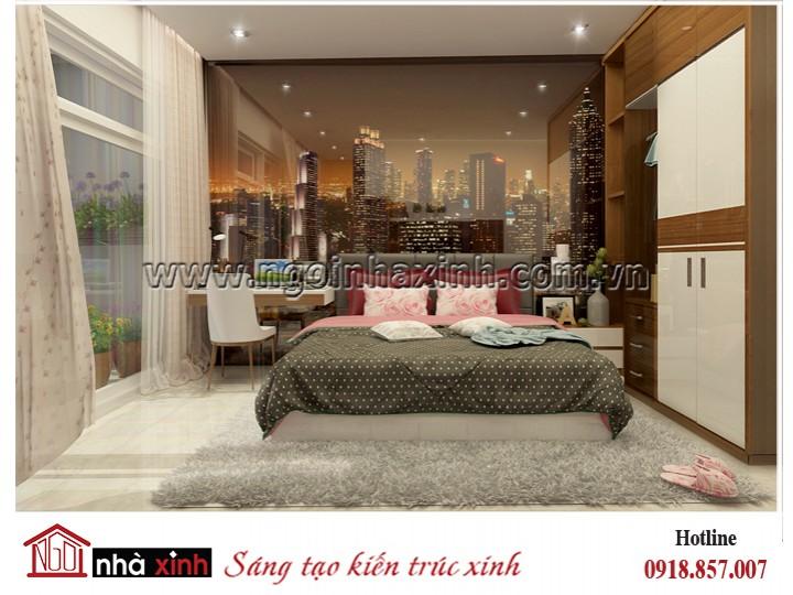 Nhà Xinh - Đằng cấp thiết kế nhà đẹp - Mẫu thiết kế nội thất đẹp | Hiện Đại | Bầu Bàng - Tân Bình | NNX - NT 721