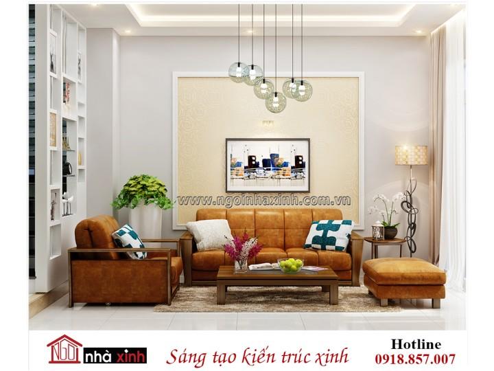 Nhà Xinh - Đằng cấp thiết kế nhà đẹp - Mẫu thiết kế nội thất đẹp nhà chị Hà Q7 | NNX - NT 723