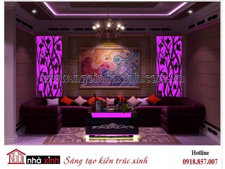 Nhà Xinh - Đằng cấp thiết kế nhà đẹp - Mẫu thiết kế nội thất đẹp | Tân cổ điển | Nhà Chị Oanh Quận 5 | NNX - NT 720