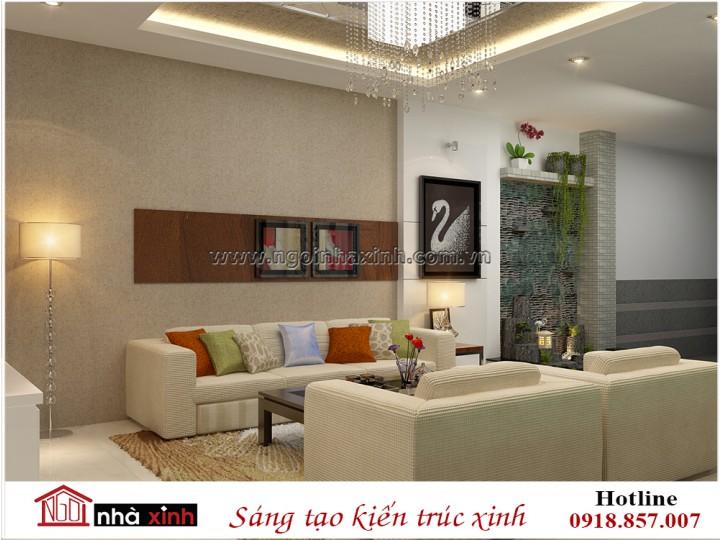 Nội thất đẹp phòng khách | Hiện Đại | Anh Hiếu - Quận 12 | NT. NNX 186