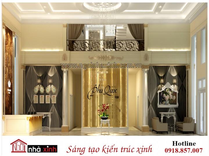 Nội thất đẹp,sang trọng tân cổ điển | Khách Sạn - Phú Quốc | NNX NT727