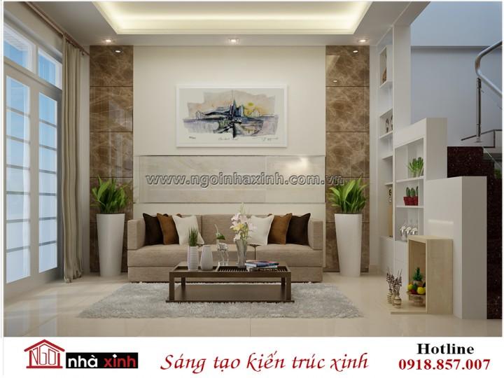 Noi that nha xinh phòng khách | Hiện Đại | Chị An - quận 7 | NT. NNX 192