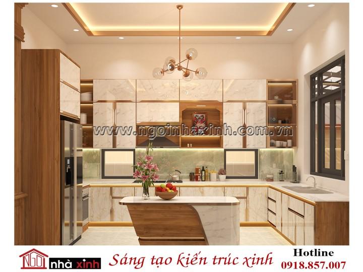 Mẫu thiết kế nội thất đẹp phòng bếp hợp xu hướng 2019