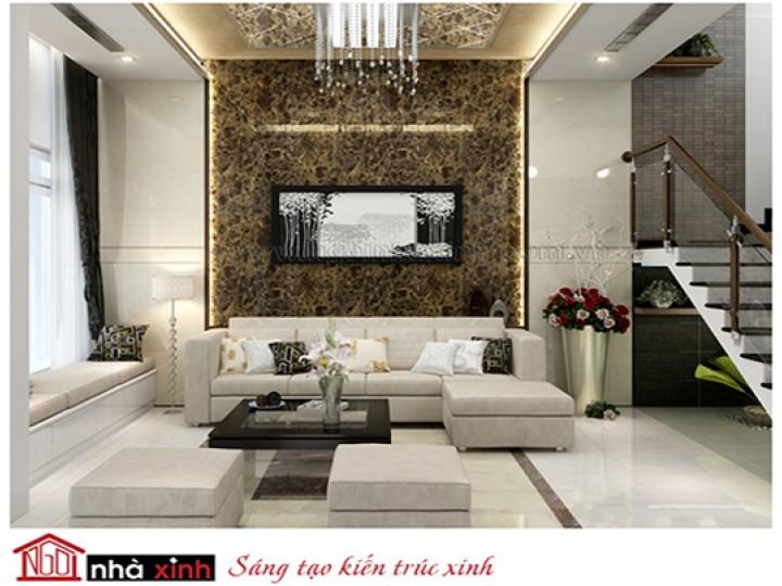 Mẫu Phòng Khách Đẹp Sang Trọng | Hiện Đại | Biệt Thự | Nghệ An | NT. NNX161