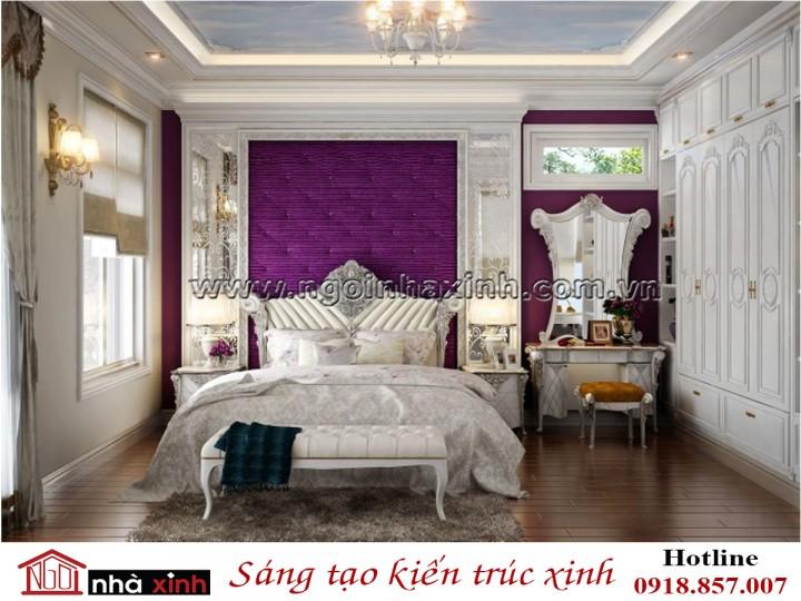 10 Mẫu thiết kế nội thất đẹp phòng ngủ Tân cổ điển