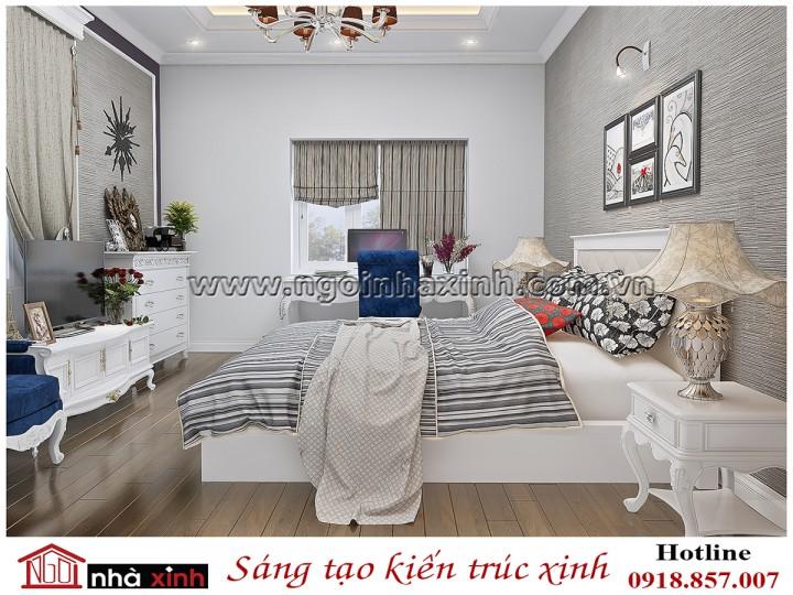 Mẫu phòng ngủ biệt thự sầm sơn