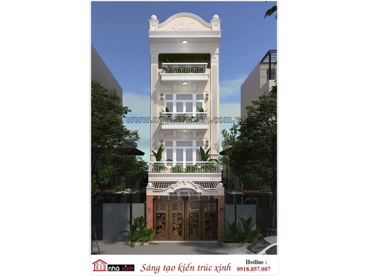 Nhà Phố Đẹp | Tân Cổ Điển | Nhà Chị Mai - Tân Phú