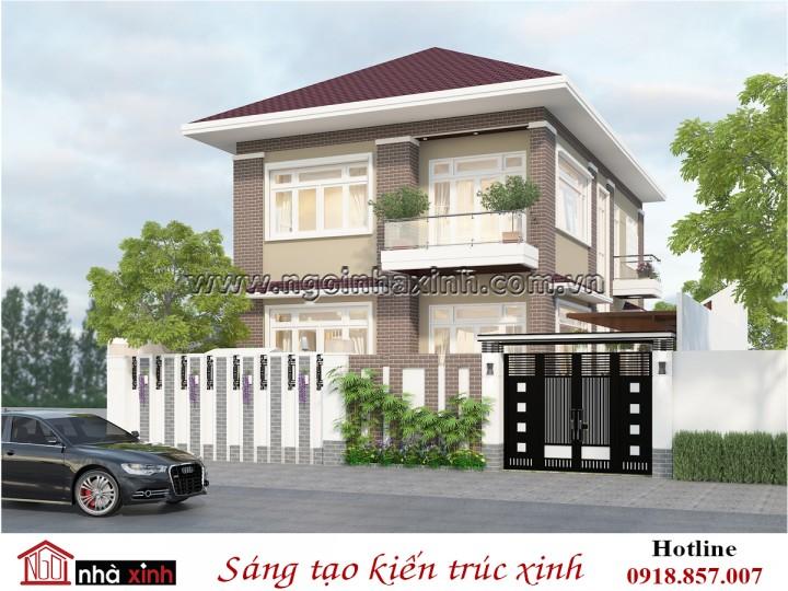 Biệt thự đẹp hiện đại | Chị Nhung – Tân Vạn | BT NNX 714