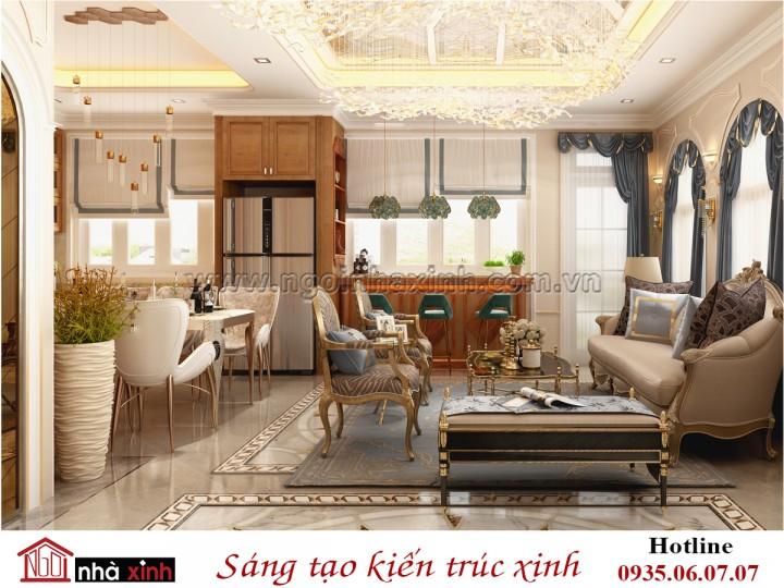 Nhà Xinh | Nội Thất Bếp Đẹp | Phong Cách Tân Cổ Điển | Nhà Anh Cơ - Tân Bình