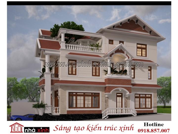 Thiết Kế Biệt Thự Đẹp | Tân Cổ Điển | 3 Tầng | Mặt tiền 10Mx20M l Anh Tùng - Quận 12 TPHCM
