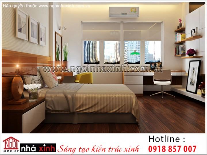 Thiết Kế Phòng Ngủ Ấm Áp Quận Bình Thạnh   NPNNX029