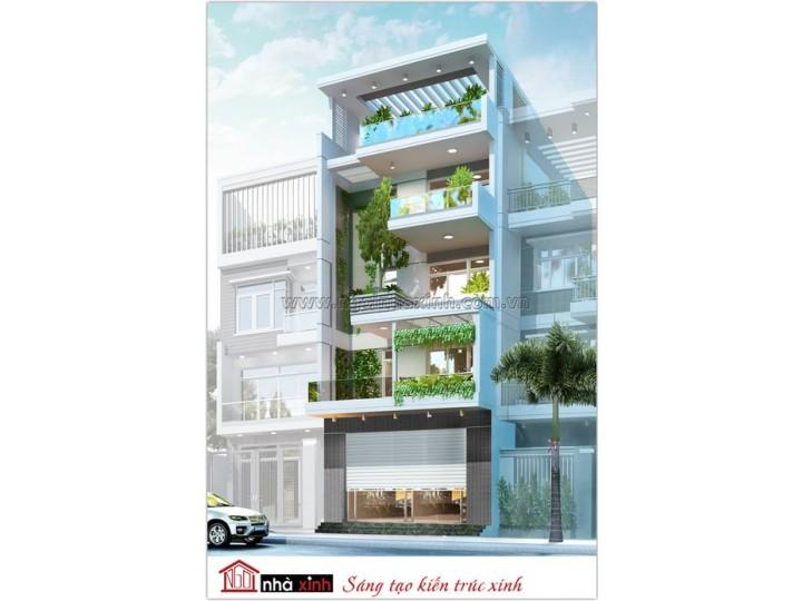 Thiết kế nhà phố đẹp | Anh Khuê | Lê Quý Đôn | NNX0616
