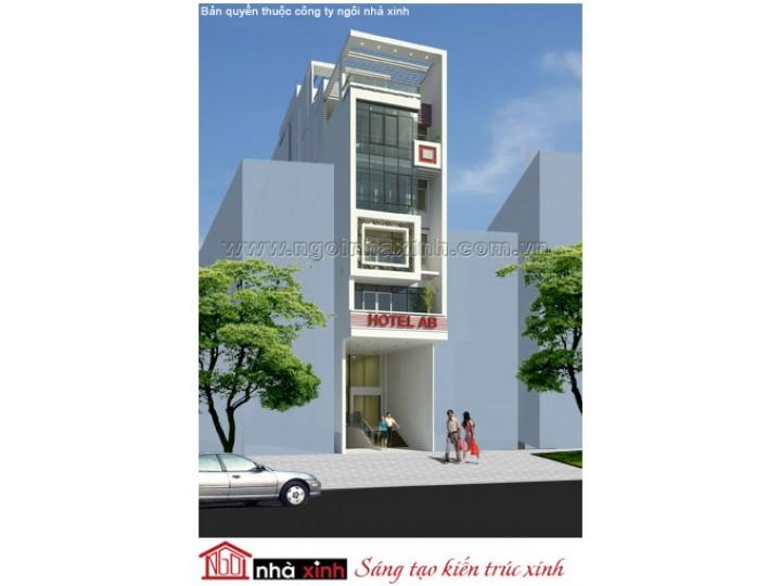 Thiết Kế Nhà Phố Đẹp | Hiên Đại | Mái Bằng | 8 Tầng | 6M Mặt Tiền | Bà Nguyễn Tân – Quận 1  | NPNNX126